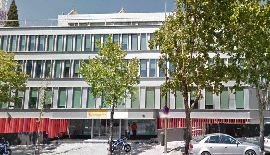DELEGACIÓN DE HACIENDA.C/ VELÁZQUEZ, 147. MADRID